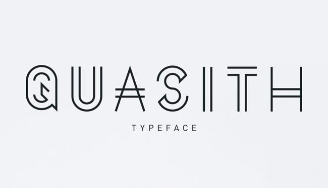 创意线条字体设计案例欣赏