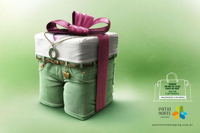 国外购物中心创意平面广告作品欣赏