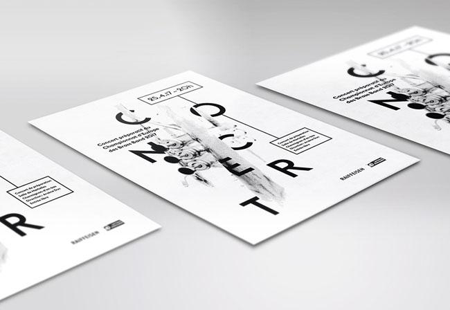 EBBC 2017欧洲铜管乐队锦标赛海报设计作品