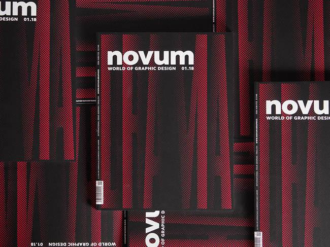 novum杂志0118期丝网封面设计作品
