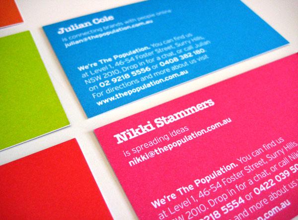 5款好看的营销机构创意名片设计欣赏