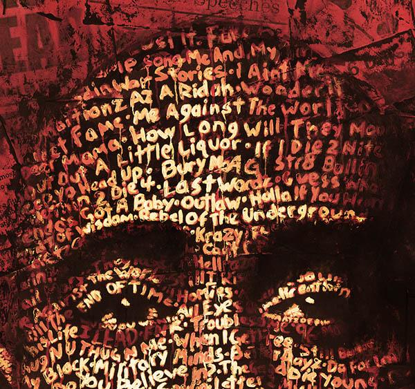 美国cris wicks字体肖像排版设计