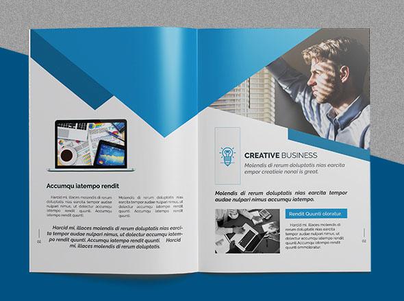 CRISTAL Pioneer企业画册模版设计作品NO.6