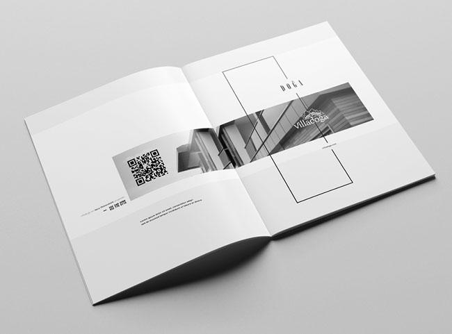 国外Villadoga住宅楼盘画册设计作品