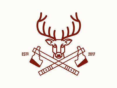 21款斧头元素logo设计作品