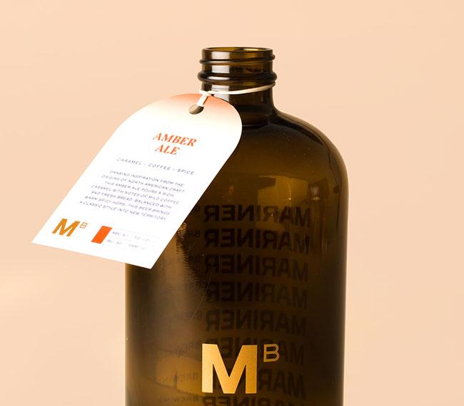 Mariner Brewing手工酿造啤酒品牌形象设计