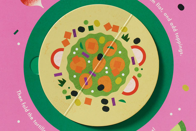 1组幼儿烹饪学习创意书籍设计欣赏