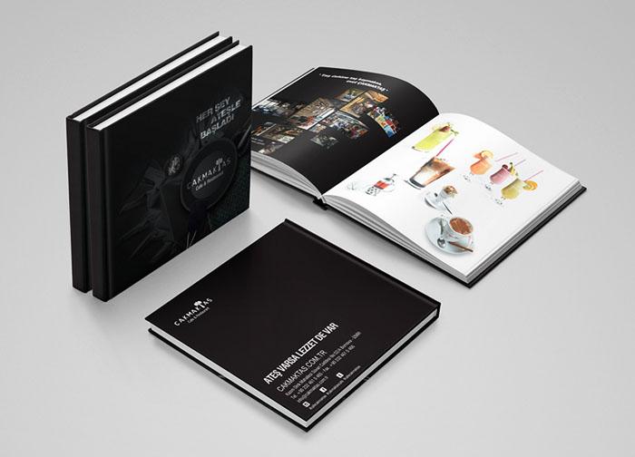 Merih Sejkic饮食类目录画册设计