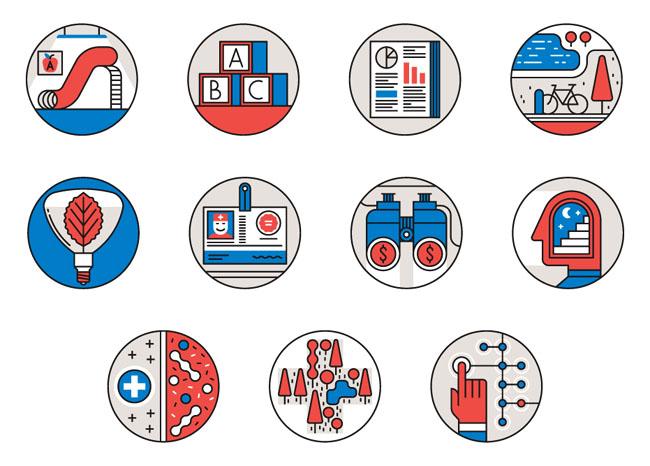11组卡通萌萌的图标设计作品欣赏