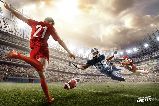1组足球主题数码视觉设计作品欣赏