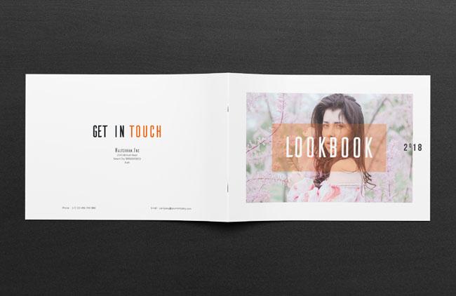 一组国外时尚好看的画册设计作品欣赏