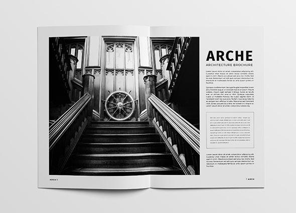 2019黑色系的建筑画册设计作品欣赏
