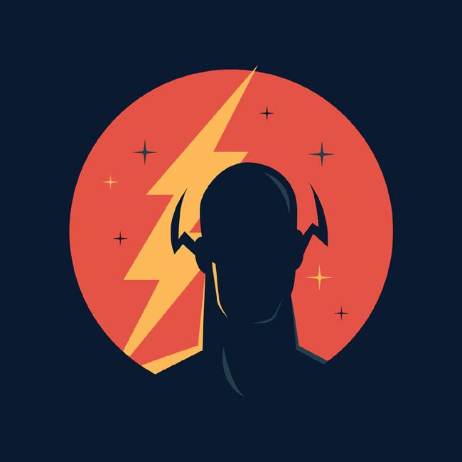 一组DC漫画超级英雄图标设计
