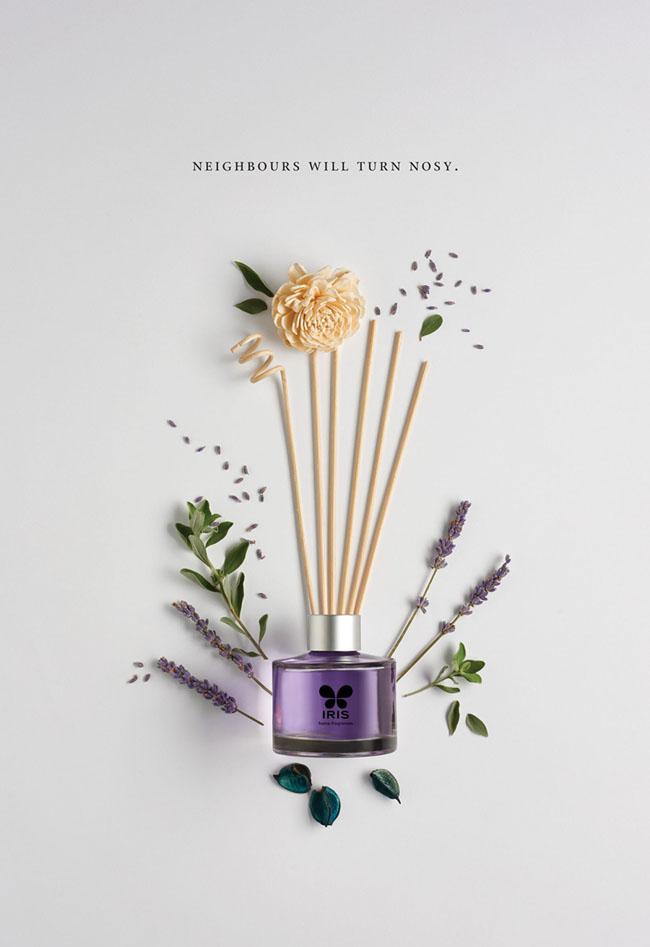 Iris香水系列创意平面广告设计作品欣赏