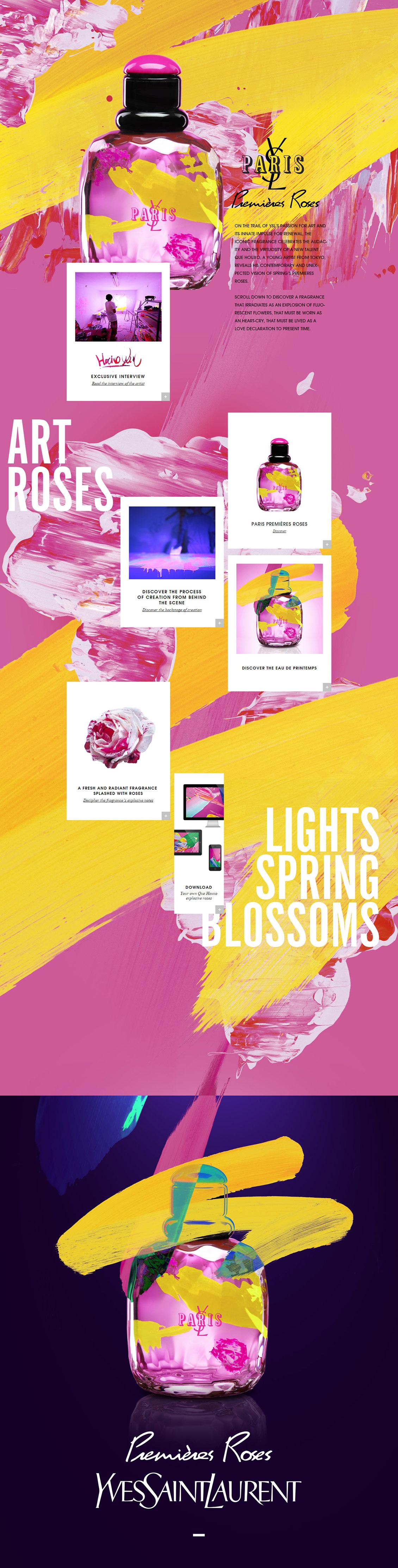 又一版国外yslbeauty化妆品专题网站设计(三)