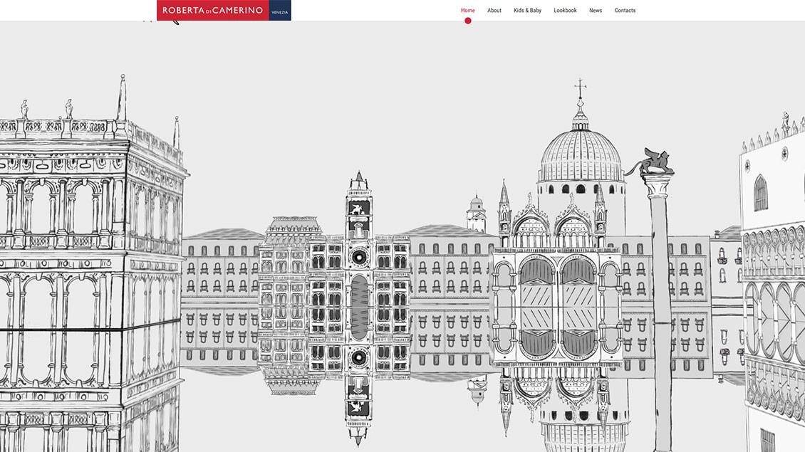意大利诺贝达品牌包包女包创意HTML5网站设计