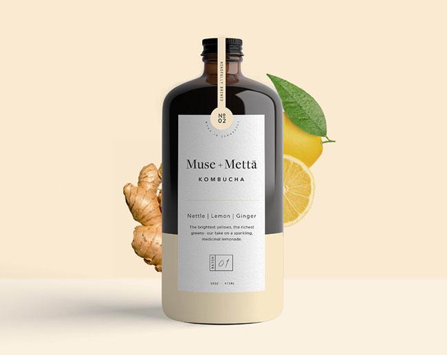 国外Muse Metta养生饮料包装设计作品
