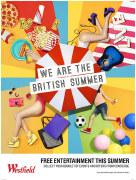 英国的夏天配色设计