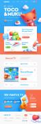 儿童电视频道游戏网页设计素材欣赏