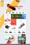 Nike Redesign网页界面设计欣赏