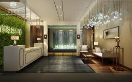 重庆度假酒店装修建筑主体完工后再确定室内设计吗