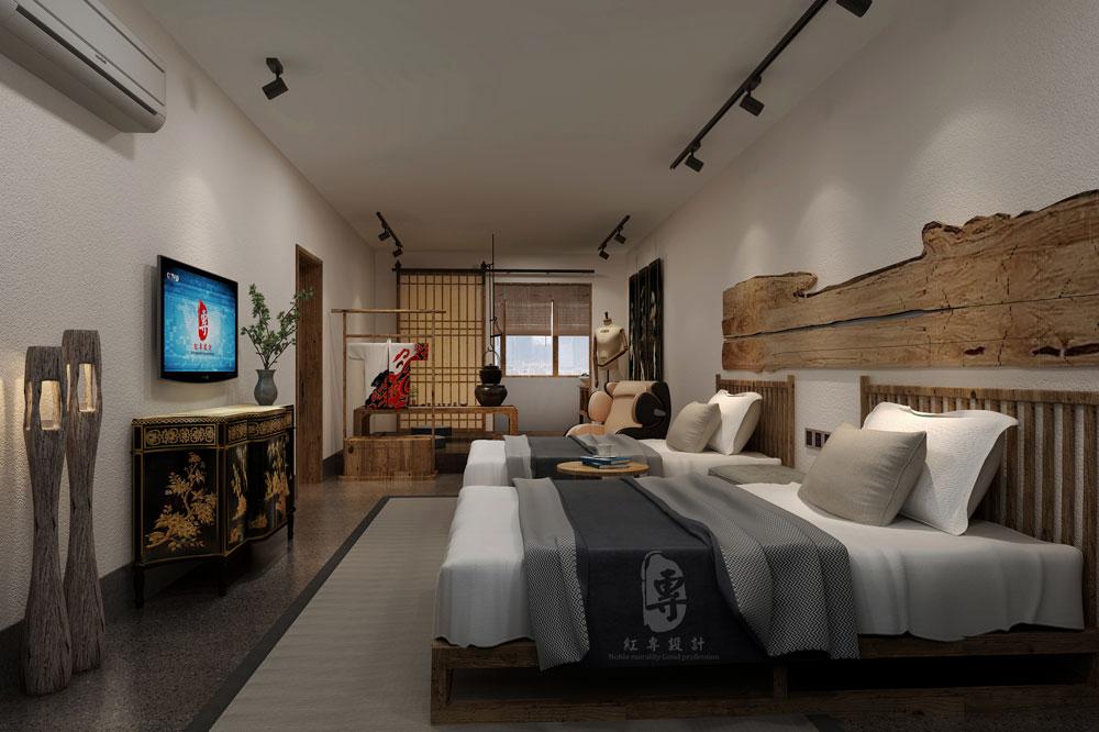 成都精品酒店设计—红专设计|大隐美宿城市精品酒店