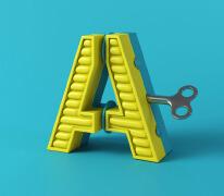 西班牙Marc Urtasun漂亮的立体26个英文字母设计