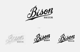 国外精美的Bison啤酒包装设计
