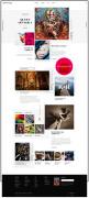 国外Vermilion时尚响应式网站设计欣赏