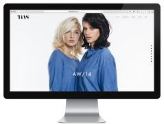 匈牙利TRAS女性时尚手工制作品牌网页设计欣赏
