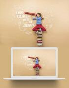 橙色系活泼的国外儿童节网页设计欣赏