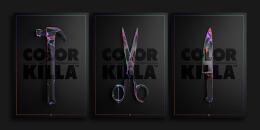 国外Color Killa主题创意海报设计欣赏