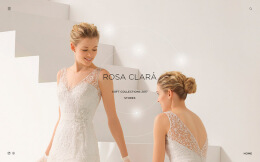 绝对伏特加Rosa Clara新娘沙龙活动满屏网页设计欣赏