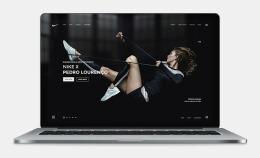 波兰Aleksandr耐克时尚网页设计欣赏