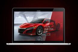 时尚靓丽的Acura汽车企业官网设计欣赏