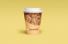 西班牙设计师Juan Sebastian咖啡纸杯设计欣赏