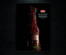 国外Desperados辣椒酱创意海报设计欣赏