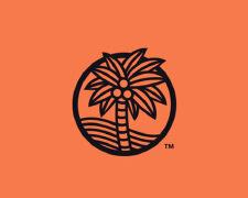 20个椰树元素标志LOGO设计欣赏