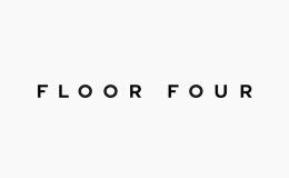 国外Floor Four在线展示平台VI形象设计