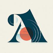 国外Nick Matej漂亮的英文字母和阿拉伯数字设计