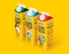 乌克兰知名的Fairy Milk牛奶包装设计