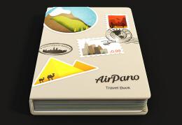 国外立体创意的AirPano旅游书籍封面设计欣赏