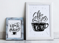 国外设计师Ana Novakovic咖啡主题手绘字体设计欣赏