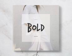 国外Bold时尚杂志设计封面及页面设计欣赏