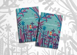 捷克LENA POKALEVA《拇指姑娘》童话书籍设计欣赏