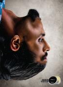 国外Mandevu男士胡须护理产品创意广告设计