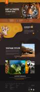 土耳其某动物园网页界面设计