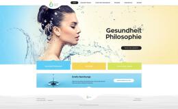 国外Coral Time在线健康商店网页界面设计欣赏