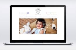 国外DOE A DEER幼儿品牌网页设计作品欣赏