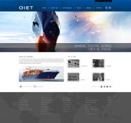 国外蓝色风格网站首页设计欣赏